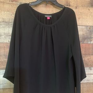 Vince Camuto black top, size small